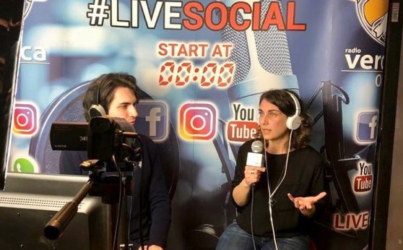 Live Social (radio Veronica one)